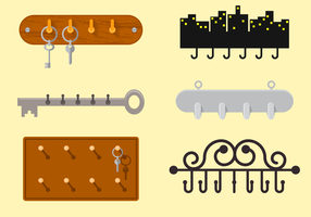 Free Key Holder Vector