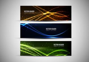 Free Vector Abstract Colorful Headers