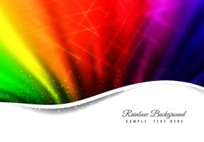 Free Vector Abstract Rainbow Background
