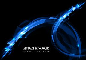 Vector Modern Glowing Background