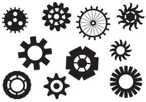 Free Clock Pieces Vectors
