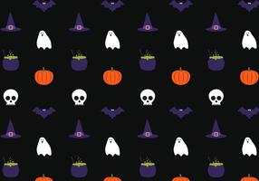 Free Halloween Pattern Vector