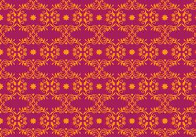 Free Vector Magenta Floral Background