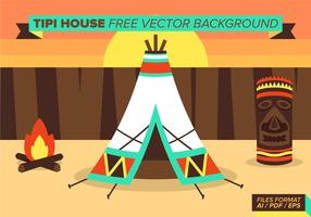 Tipi House Free Vector Background