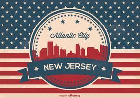 Atlantic Skyline Vector Illustration