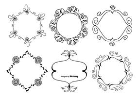 Cute Hand Drawn Frame Set