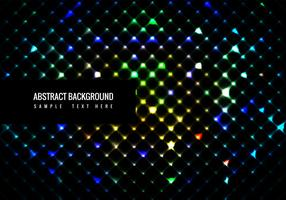 Vector Colorful Shining Glitters background