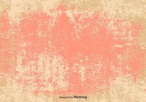Vector Grunge Pink/Beige Background