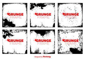 Vector Grunge Vector Frames
