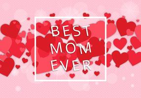 Free Best Mom Vector