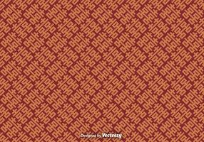 Vector Seamless Pattern With Double Happiness Symbol