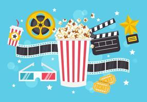 Free Popcorn Box Vector