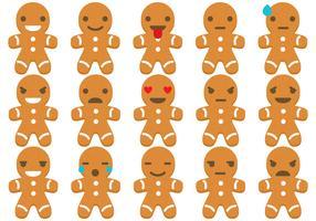 Lebkuchen Emoticons