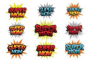 Free Super Mom Vector
