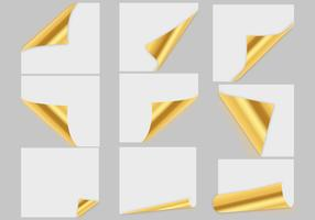 Free Gold Paper Vector
