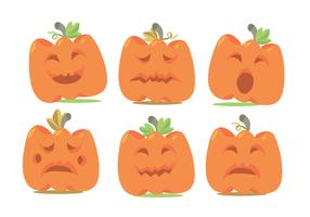 Pumpkin Patch Vector Set