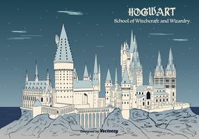 Hogwarts Background Vector