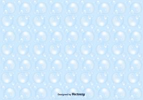 Soap Suds Vector Pattern