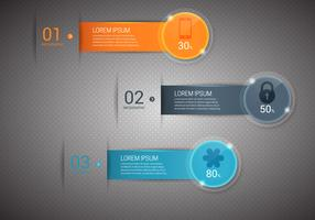 Free Bright Infographics Vector