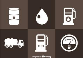 Gasoline Station Icons