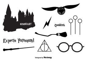 Hogwarts Vector Icons