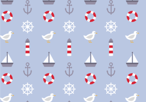 Free Nautical Pattern Vector