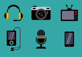 Free Device Icons Vector