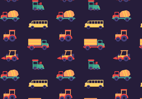 Free Car Pattern Vector