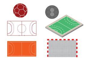 Free Handball Design Vector