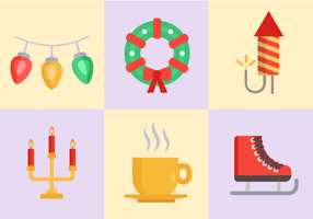 Free Christmas Icons Vector