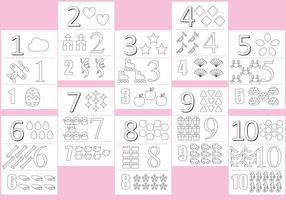 Coloring Numbers Pages