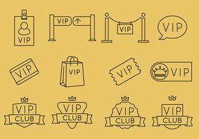 VIP Line Icons