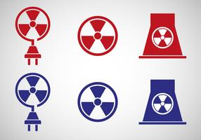 Free Nuclear Energy Icon Vector