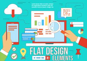 Free Flat Design Vector Elements