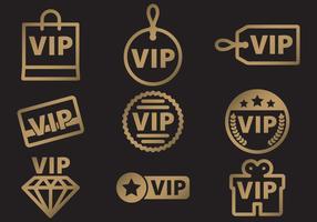 VIP Icon Vectors