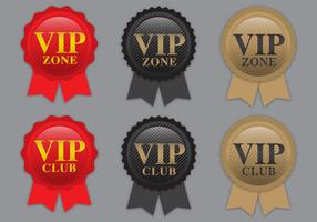 VIP Ribbon Vectors