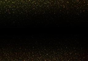 Free Strass Vector, Gold Glitter Texture On Black Background