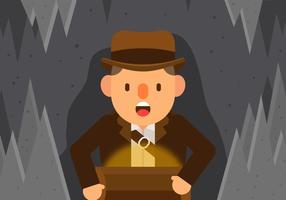 Vector Indiana Jones