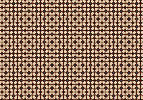 Java Batik Background Vector