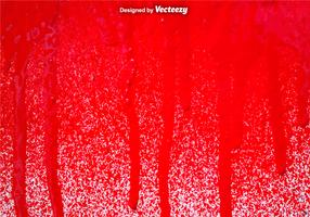 Vector Red Spray Paint Drips Background