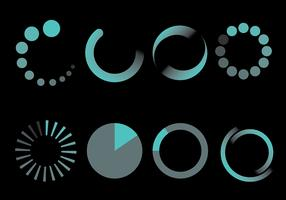Free Preloader Icons Vector