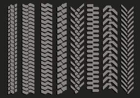 Tire Marks Vectors