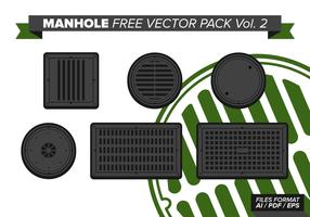 Manhole Free Vector Pack Vol. 2