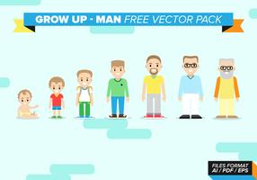 Grow Up Man Free Vector Pack