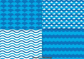 Blue Water Element Pattern