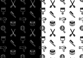 Free Hair Pattern Vector
