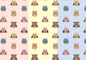 Free Owl Pattern Vector