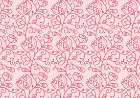 Floral Outline Pattern