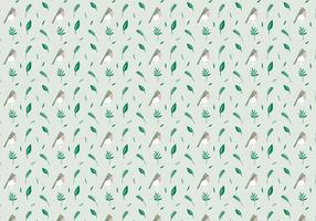 Birds Plants Pattern