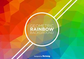 Abstract Rainbow Vector Background